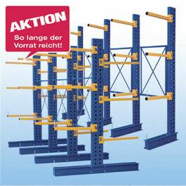 Kragarmregal Aktion Stecksystem