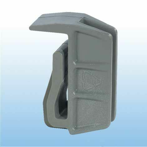 Eckverbindungsklammer für Edelstahl-Böden und Roste