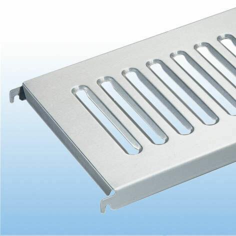 Edelstahl-Blechroste Zusatzboden