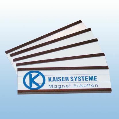 Magnet-Etiketten