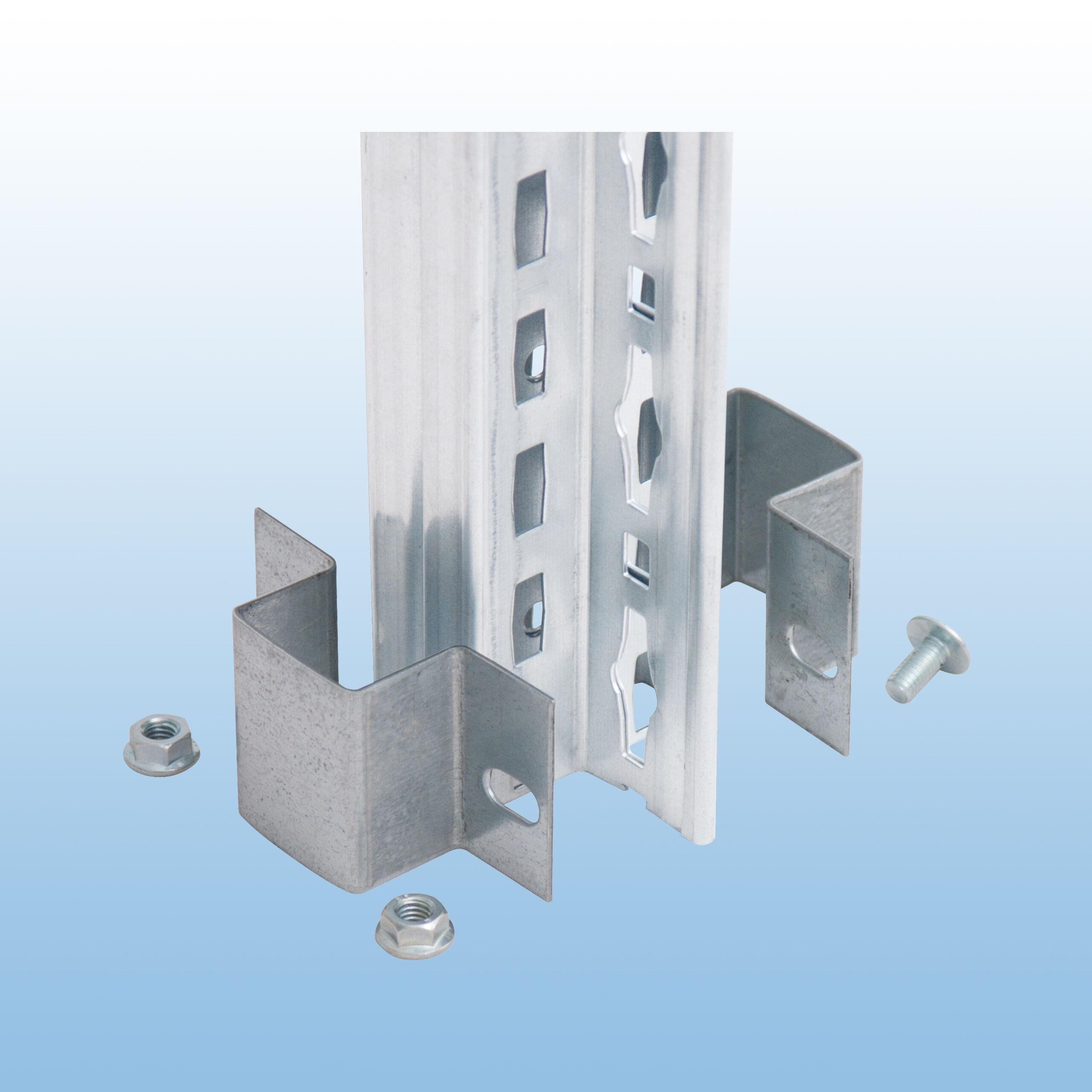 Doppelregal-Verbinder