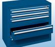 Schubladenblock blau