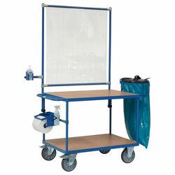Desinfektionsmittelhalter, Papierrollenhalter, Abfallsammler