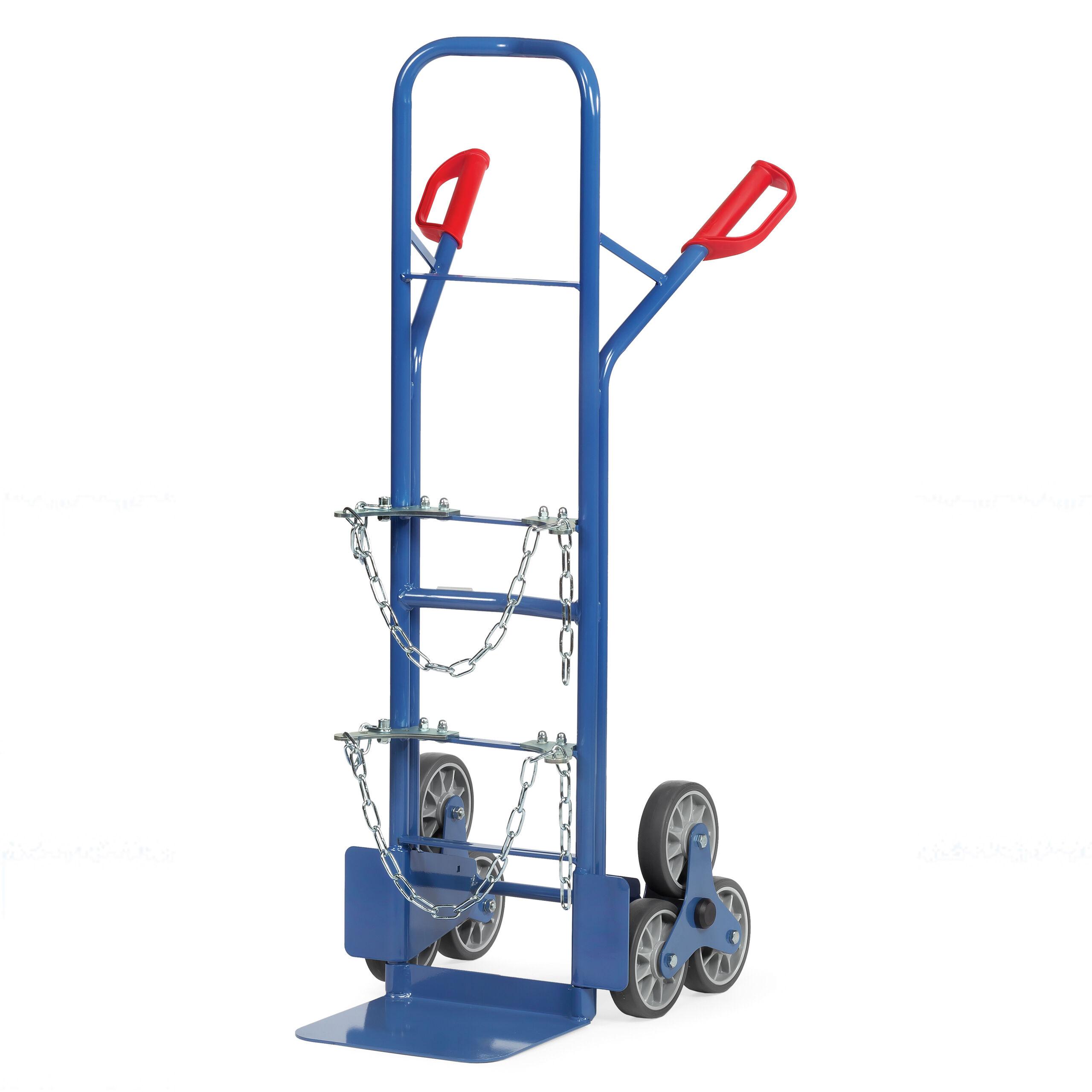 Stahlflaschen-Treppenkarren