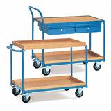 Tischwagen mit Einlegekasten