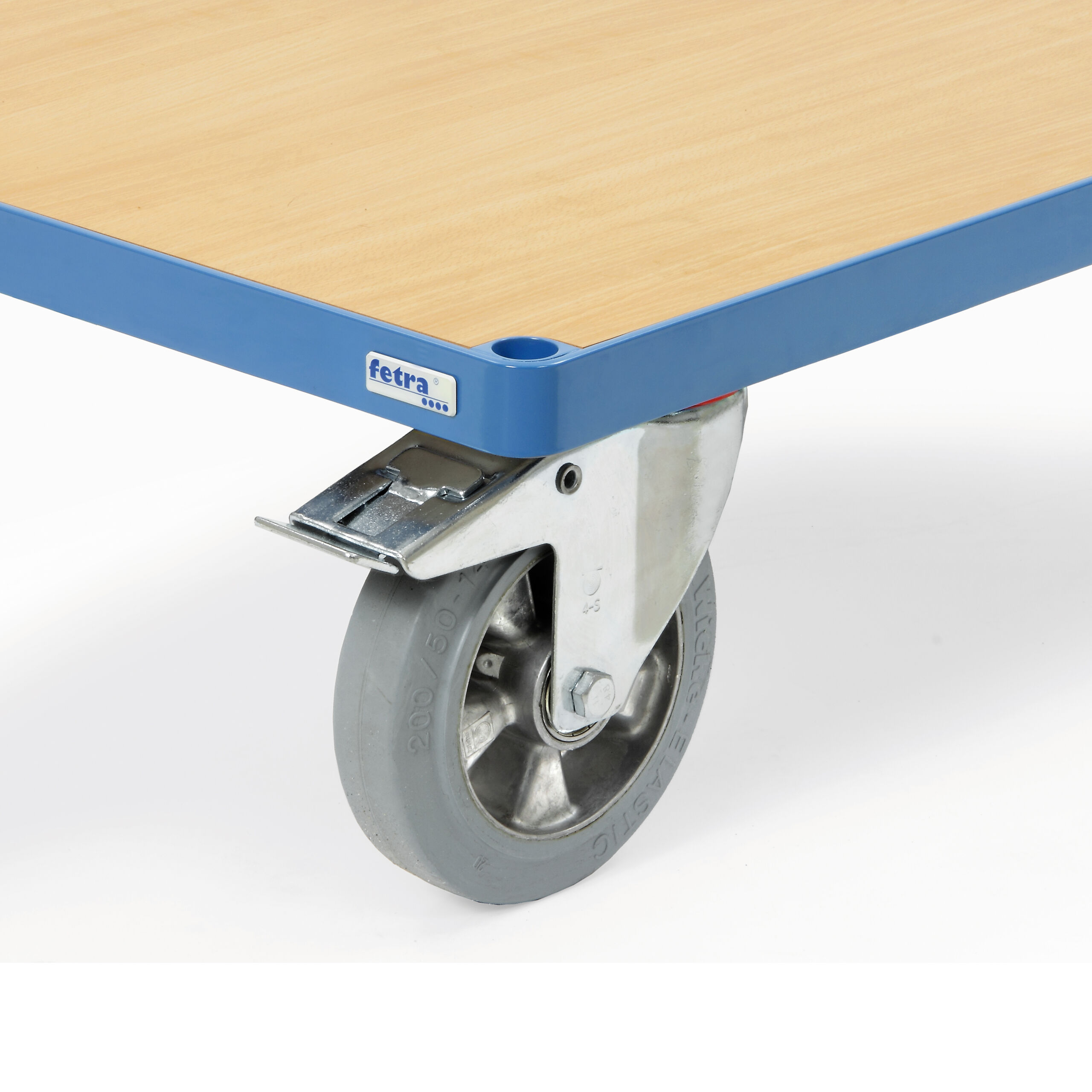 Räder mit Elastic-Bereifung