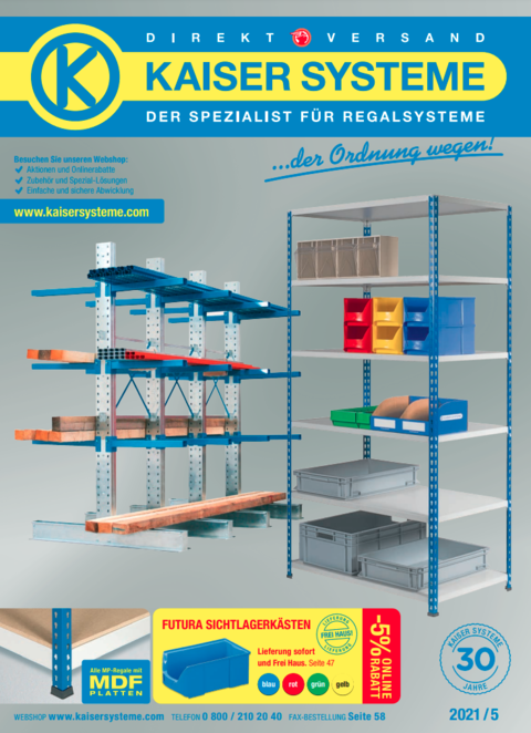 Kaiser Systeme Katalog 2021/5 Deutschland