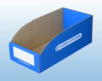 Lagersichtboxen aus Karton
