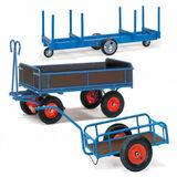 Handwagen und Anhänger