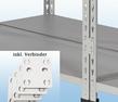 MP20G / MP23G Doppelregal - inkl. 4 Verbinder